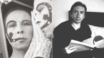 Pedro Lemebel y Néstor Perlongher