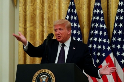 El presidente Donald Trump REUTERS/Tom Brenner