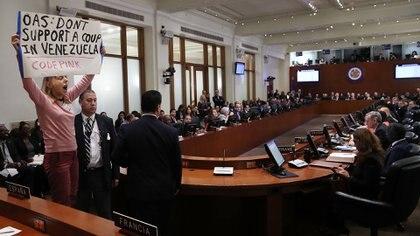 El TIAR debe ser presentado ante la Organización de Estados Americanos (OEA)