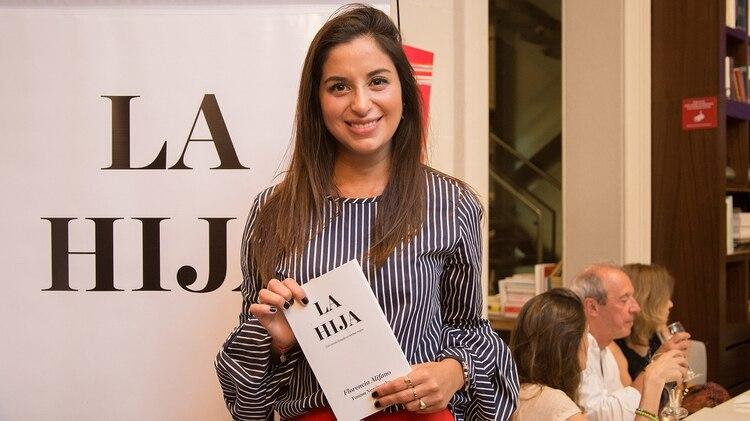 """Su debut como escritora: durante la presentación de """"La hija"""": inspirada en su vida."""