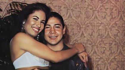 Chris Pérez estaba casado con Selena Quintanilla (Foto: Twitter @ SelenaQperez92)