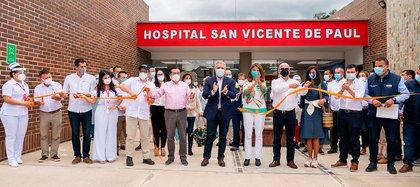Nuevo hospital de Gramalote entra en servicio luego de cinco años de  retrasos - Infobae