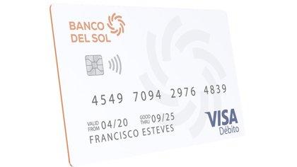 La nueva presentación de la tarjeta de débito.