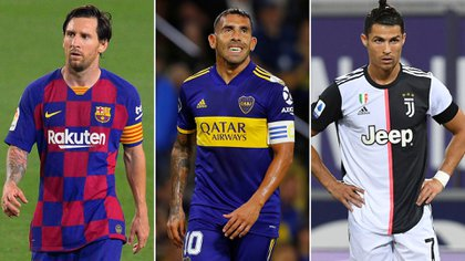 Messi-Tevez-Cristiano: ¿el trío ofensivo en el partido homenaje de Carlitos?