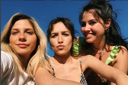 Paulina, Candela y Julieta Vetrano