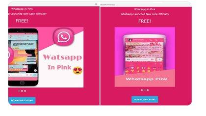 """Alertan por el """"WhatsApp rosa"""", un engaño para hackear tu celular"""