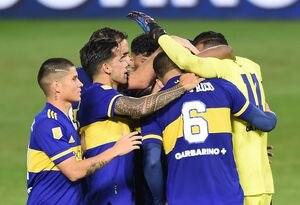 Boca venció a River en los penales y avanzó a semifinales de la Copa de la Liga