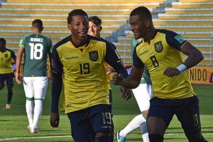 Alerta en la Selección de Ecuador por un brote de coronavirus: seis jugadores dieron positivo antes del duelo ante Colombia Foto: EFE/Aizar Raldes