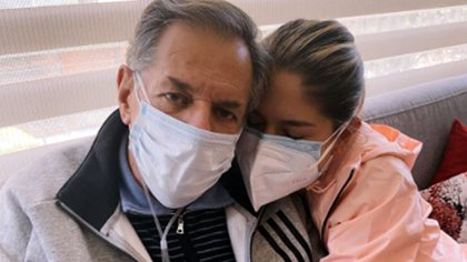 Laura Tobón comparte que su padre regresó a casa luego de luchar por 16 días contra el covid. Foto: @laura_tobon