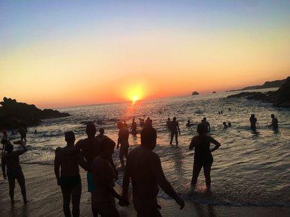 Zipolite es un de las más atractivas playas del Pacífico mexicano, en Oaxaca.