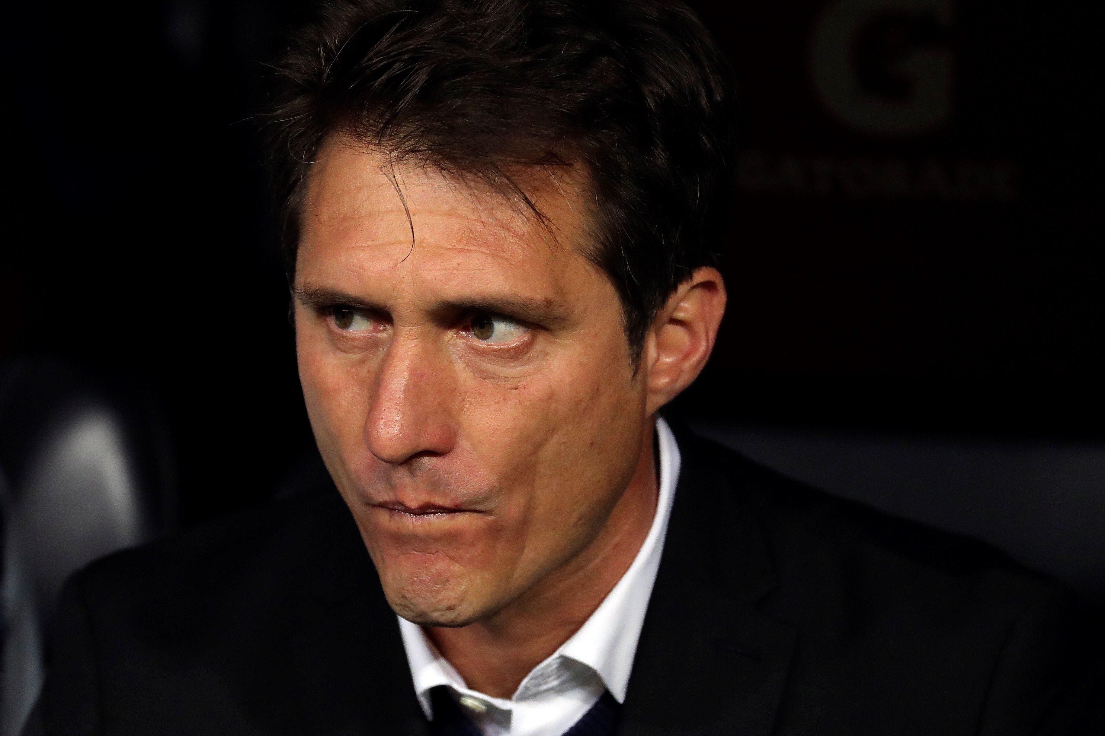 El ex entrenador del Galaxy de Los Ángeles Guillermo Barros Schelotto (EFE)