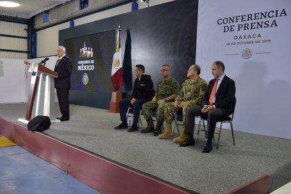 Andrés Manuel López Obrador contradijo a su secretario en su conferencia matutina en Oaxaca. (Foto: Archivo/Cuartoscuro)