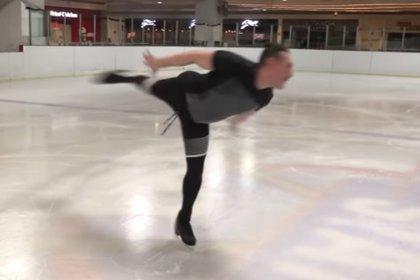 Daniel Urquiza fue campeón mundial en patinaje (Captura YouTube)