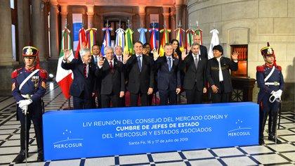 Esta semana se desarrolló la cumbre del Mercosur en Santa Fe, Argentina