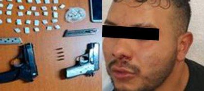 Luego de ser buscado por un año, la policía capitalina dio con él a pesar de que intentó huir por azoteas de Azcapotzalco (Foto: SSC)