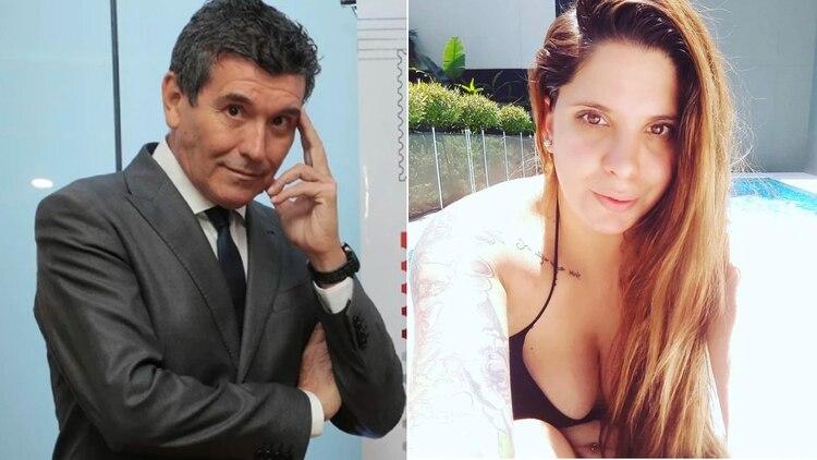 Miguel Cherutti y Melissa Brikman