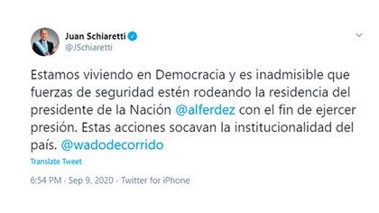 Juan Schiaretti - @jschiaretti