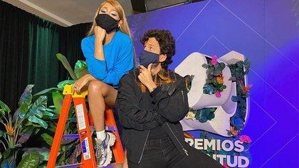 Danna Paola y Yatra se reencontraron en Miami tras dos años sin verse (Foto: Instagram@dannapaola)
