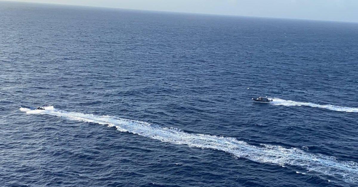 They recover a shipment of 1.5 kilos of cocaine near San Andrés
