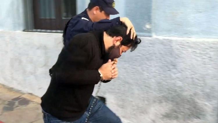 Sebastián Rodrigo Romero fue extraditado de regreso a la Argentina el jueves pasado.