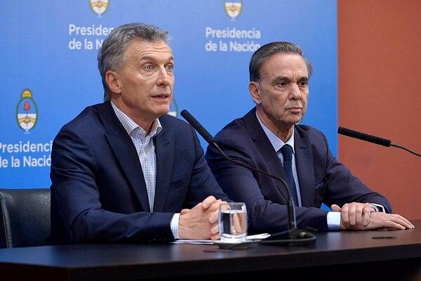 """Macri:  """"la alternativa kirchnerismo no tiene credibilidad en el mundo"""""""