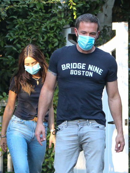 Ben Affleck and Ana de Armas out and about, Los Angeles, USA - 13 Aug 2020