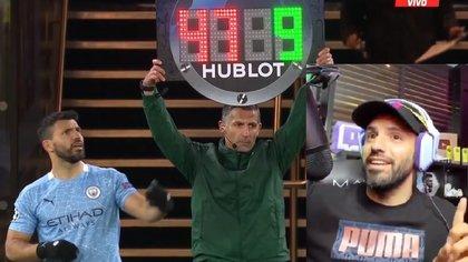 """""""El árbitro estaba en un cumple"""": la desopilante explicación del Kun Agüero sobre el blooper en el duelo del City por Champions"""