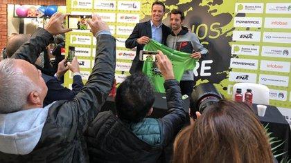 La presentación del evento, con Molina como figura destacada
