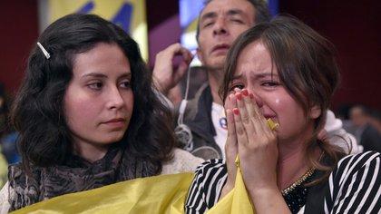 """El """"sí"""" no logró superar el 50% de los votos (AFP)"""