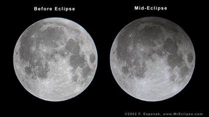 Así se ve un eclipse prenumbral (NASA)