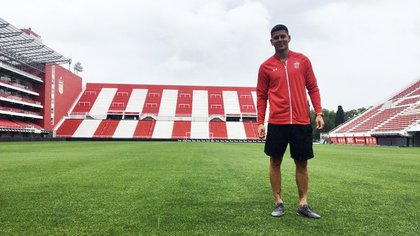Marcos Rojo llegó a Estudiantes cedido desde el Manchester United