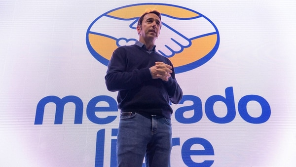 Marcos Galperín, CEO de Mercado Libre, la única que mantuvo números positivos