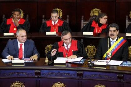 """EEUU asegura que en el tráfico de drogas """"hay personas del régimen de Maduro involucradas"""" (REUTERS/Manaure Quintero)"""