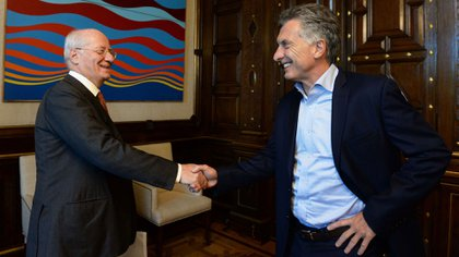 Paolo Rocca y Mauricio Macri amigos desde hace décadas