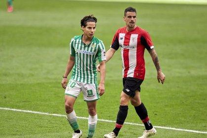 Lainez no era titular desde el pasado diciembre (Foto: Twitter/Real Betis)