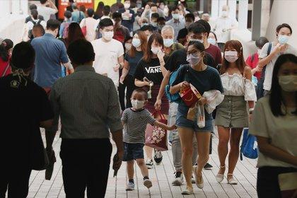 06/10/2020 La cifra de casos de COVID-19 importados ha ascendido a 2.933 en China, mientras que el país asiático ha registrado un total de 85.482 positivos en total. SOCIEDAD ASIA JAPÓN ASIA CHINA ASIA HONG KONG INTERNACIONAL JONATHAN WONG / ZUMA PRESS / CONTACTOPHOTO