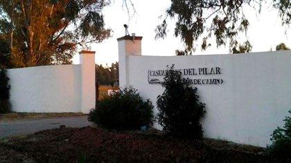 Casuarinas del Pilar, ubicado en la localidad de Zelaya (partido de Pilar), también fue escenario de un asalto