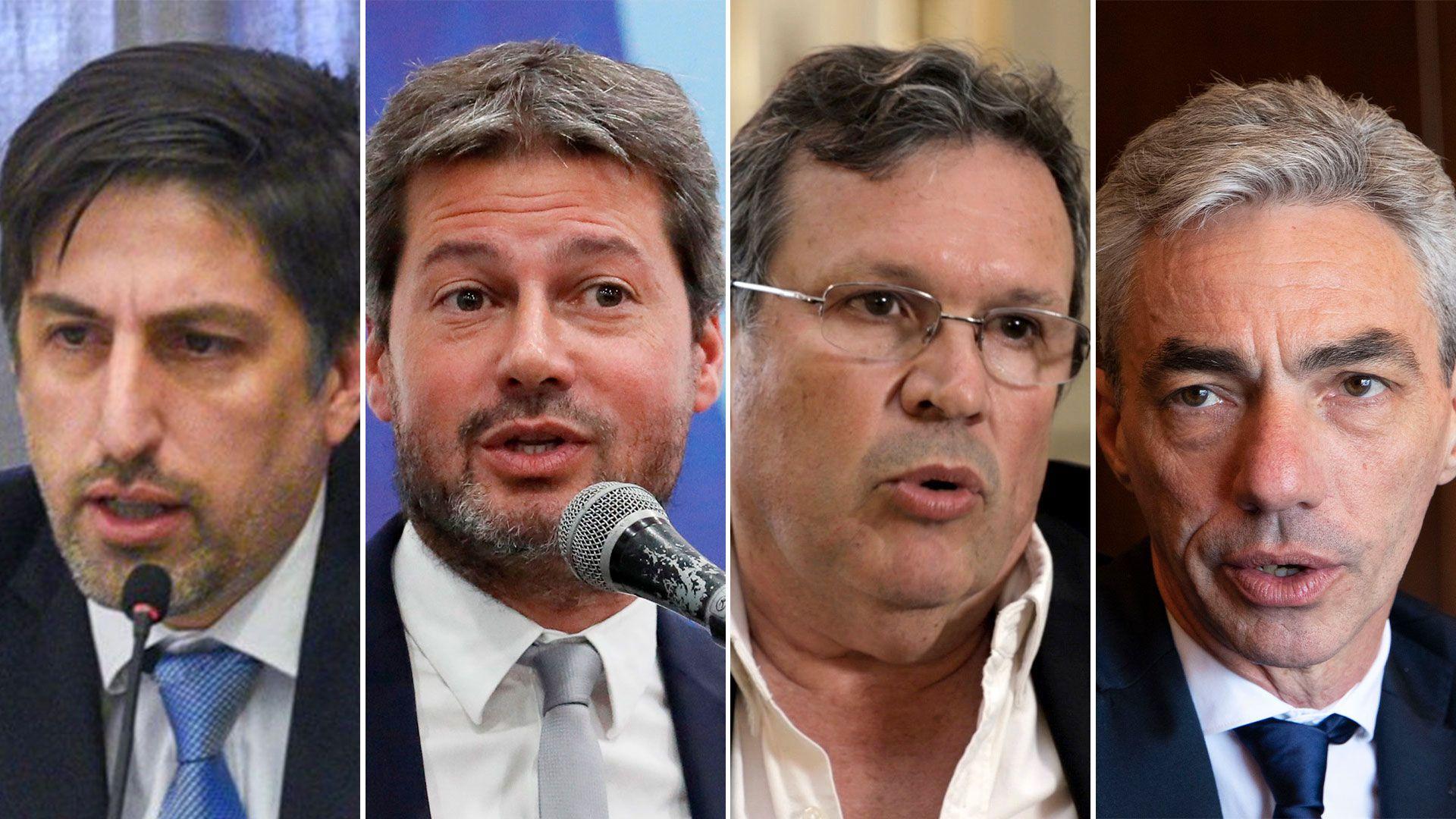 Gabinete Nacional - Nicolas Trotta, Matias Lammens, Tristan Bauer y Mario Meoni
