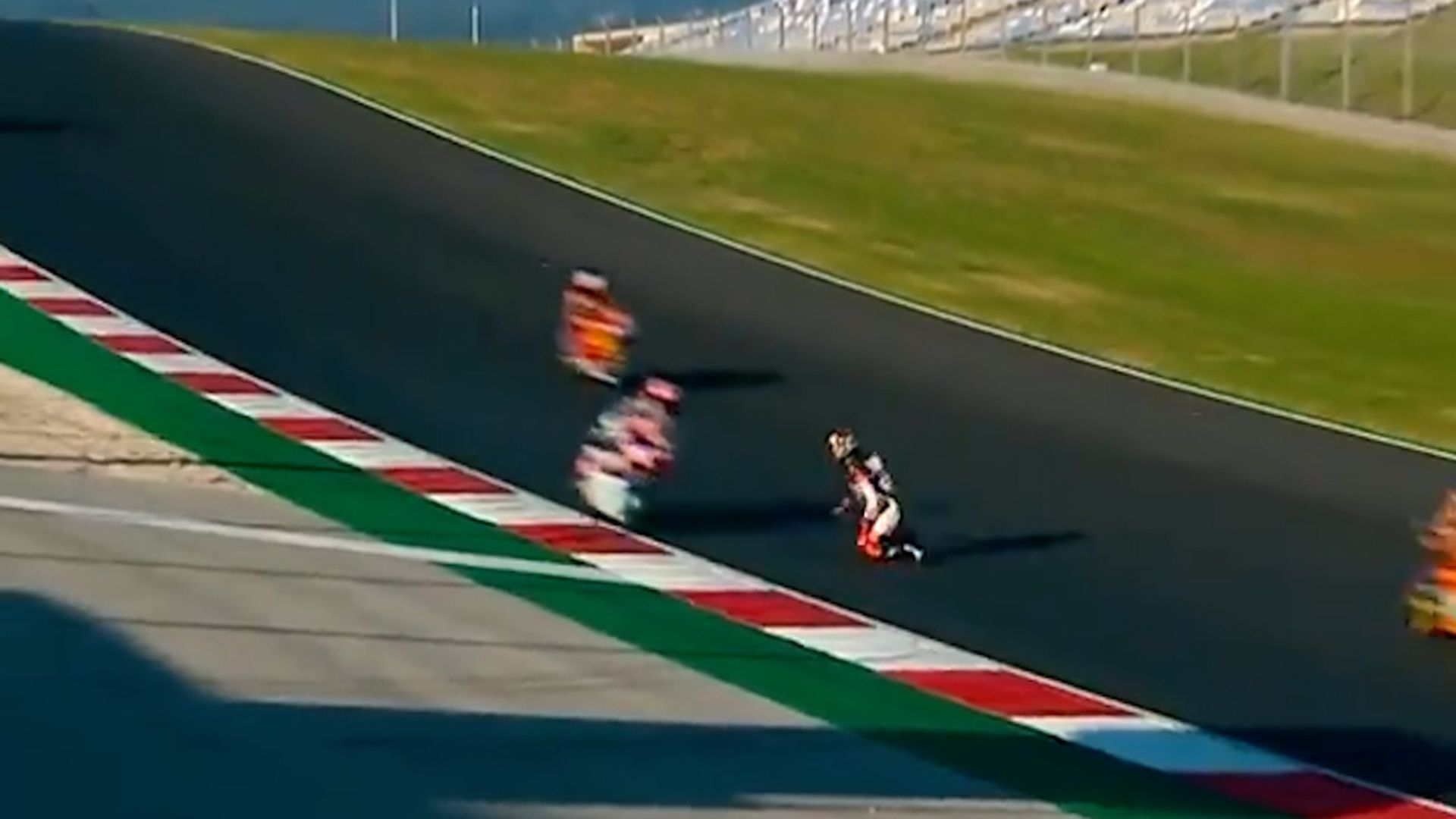 Aron Canet salvó su vida de milagro en el MotoGP