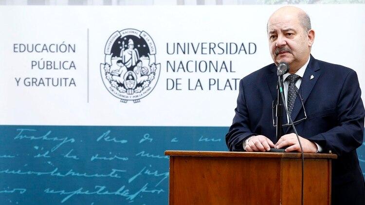 Fernando Tauber, rector de la Universidad Nacional de La Plata