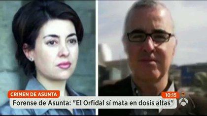 El matrimonio en la televisión española cuando el caso conmocionó a España: ¿cómo pudieron hacerlo? ¿cuál fue el móvil? ¿por qué asesinaron a su pequeña hija?, se preguntaban todos