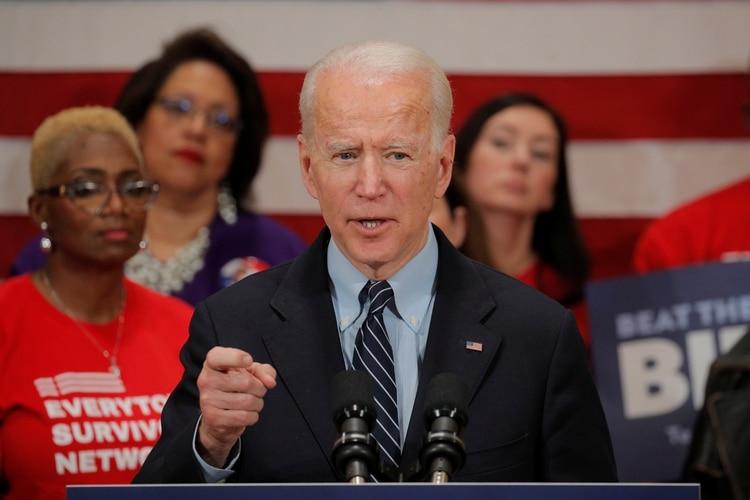 Joe Biden. REUTERS/Brendan McDermid