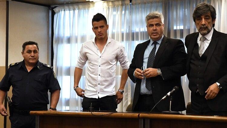 Zárate deberá hacerse un hisopado y luego será derivado a un centro penitenciario para cumplir la pena (José Romero)