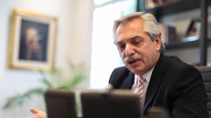 """El presidente Alberto Fernández se queja por el """"martirio de las Leliq"""""""