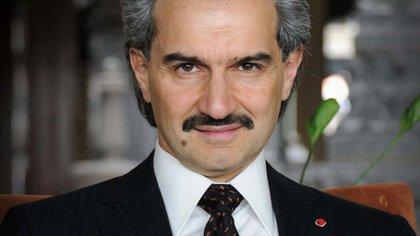 Al Waleed Bin Talal, un inversor multimillonario que fue arrestado por el príncipe heredero el año pasado. Estaba vinculado con Kahoggi (AP)