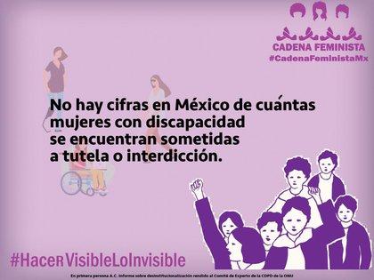 (Foto: Cadena Feminista Mx)