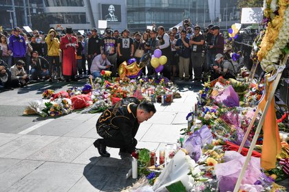 Los homenajes a Kobe Bryant en el Staples Center (USA TODAY Sports)
