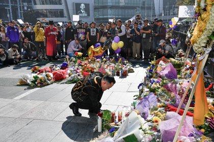 Los homenajes a Kobe Bryant en el Staples Center (USA TODAY Sports)