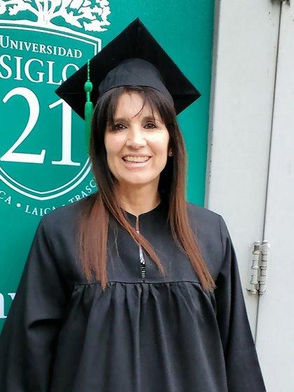 Rosa Sabena se recibió de abogada a los 60 años y en 2017 fue distinguida Doctora Honoris Causa de la Universidad de Rio Cuarto