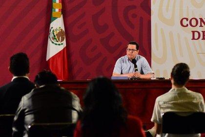 José Luis Alomía, Director General de Epidemiología (Foto: Twitter / SSalud_mx)